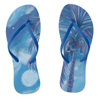 Summer Moon Slippers Flip Flops