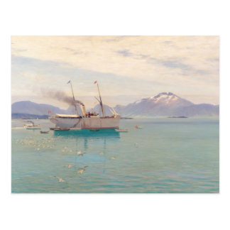 Summer Morning at Molde, 1892 Postcard