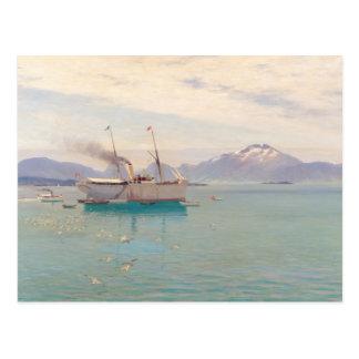 Summer Morning at Molde 1892 Postcards