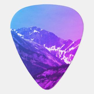 Summer Mountains Guitar Pick