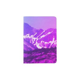 Summer Mountains Passport Holder