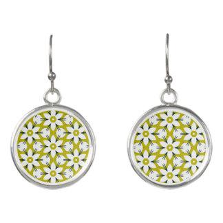 Summer music festival design earrings