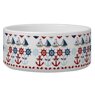 Summer Nautical Theme Anchors Sail Boats Helms