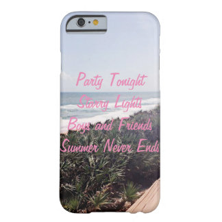 Summer Never Ends Barely There iPhone 6 Case