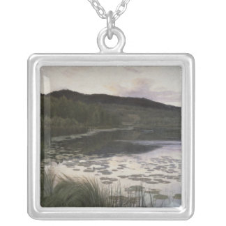 Summer Night, 1886 Silver Plated Necklace