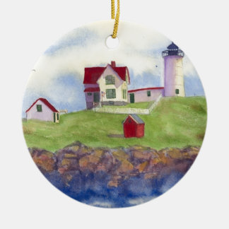 summer nubble christmas ornament