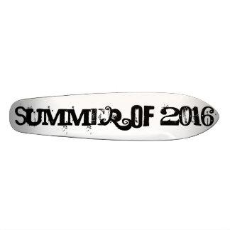 Summer of 2016 Black Funny Typography Skate Board Deck