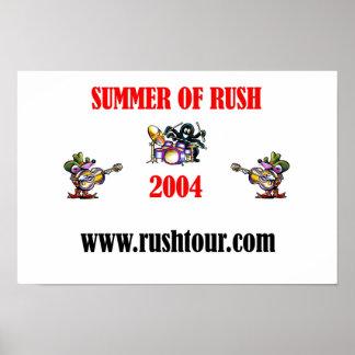 Summer Of RUSH 2004 Poster