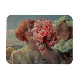 Summer Offering, 1911 (oil on panel) Rectangular Photo Magnet