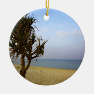 Summer Okinawa Christmas Ornament