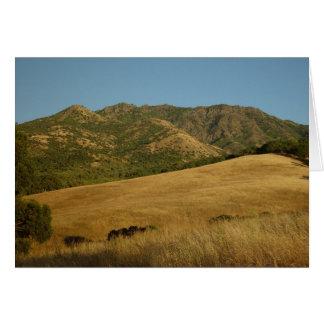 Summer on Mt. Diablo, CA Card