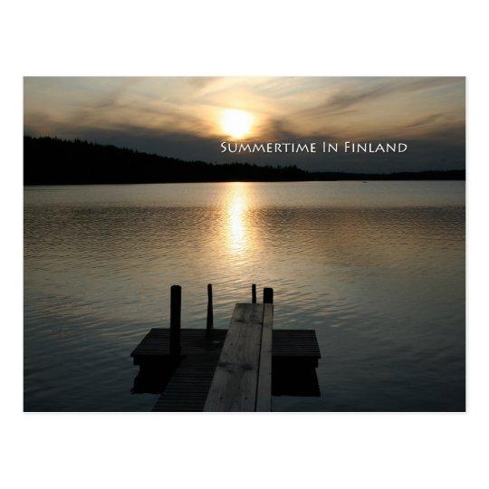 Summer on Saimaa Postcard