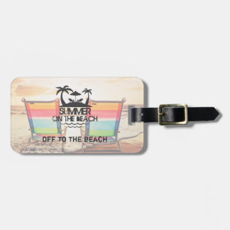 Summer on the  Beach | Personalized Luggage Tag