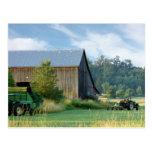 Summer on the Farm Postcard