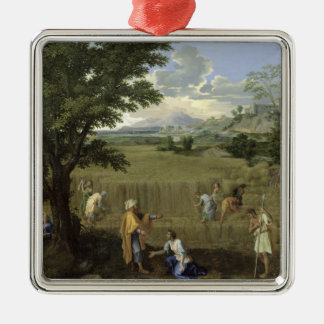 Summer, or Ruth and Boaz, 1660-64 Christmas Ornament