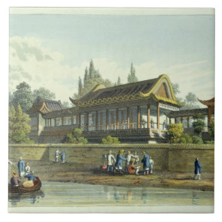 Summer Palace of the Emperor, Opposite the City of Tile
