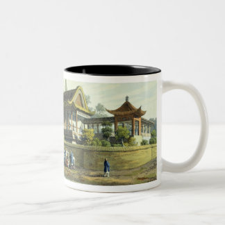 Summer Palace of the Emperor, Opposite the City of Two-Tone Coffee Mug