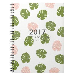 Summer Palm Notebooks