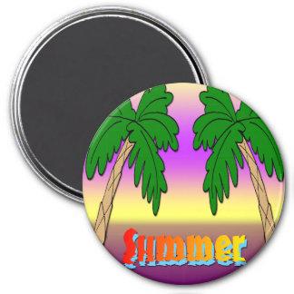 Summer Palm Trees Fridge Magnets
