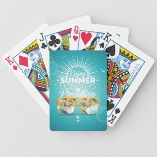 Summer Paradise Design Card Deck