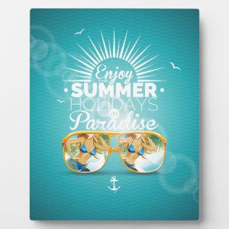 Summer Paradise Design Display Plaque