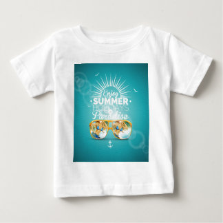 Summer Paradise Design Infant T-Shirt