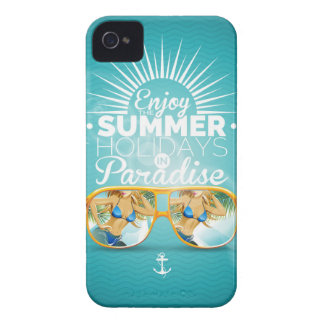 Summer Paradise Design iPhone 4 Covers