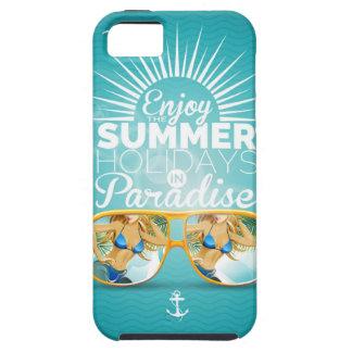 Summer Paradise Design iPhone 5 Cases