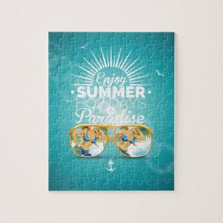Summer Paradise Design Puzzle