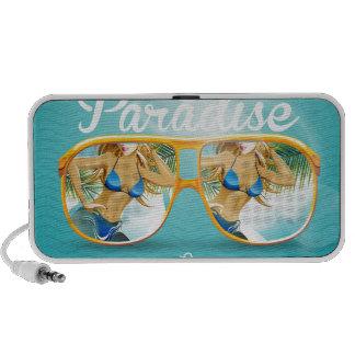 Summer Paradise Design Mp3 Speakers