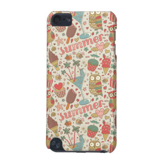 Summer Pattern With Ice Cream iPod Touch 5G Covers