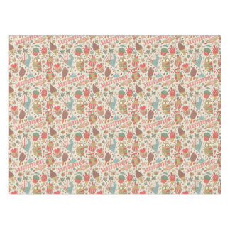Summer Pattern With Ice Cream Tablecloth
