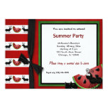 Summer Picnic 13 Cm X 18 Cm Invitation Card