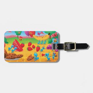 Summer Picnic Luggage Tag