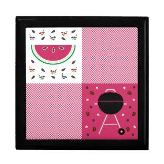 Summer Picnic Tile Box