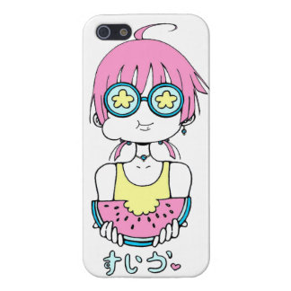 summer pink fruit iPhone 5 covers