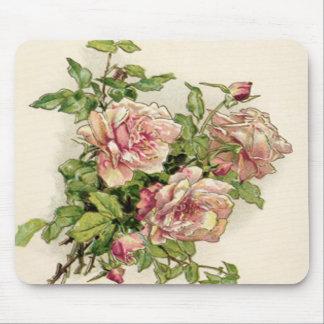 Summer Pinkish Rose Mouse Pad