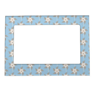 Summer Pinwheels Magnetic Picture Frame
