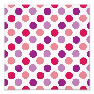 Summer Polka Dots Photo Art