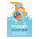 Summer Pool / Water Park Birthday Party Invitation