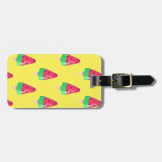 Summer popsicle Luggage tag