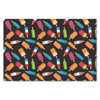 Summer Popsicles and Ice Cream Birthday Party Tissue Paper