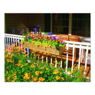'Summer Porch' Photographic Print