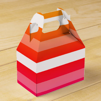 Summer Print Favour Boxes