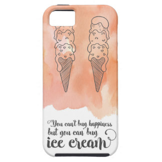Summer quote for any ice cream fan iPhone 5 case