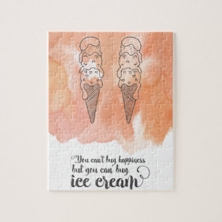 Summer quote for any ice cream fan puzzles