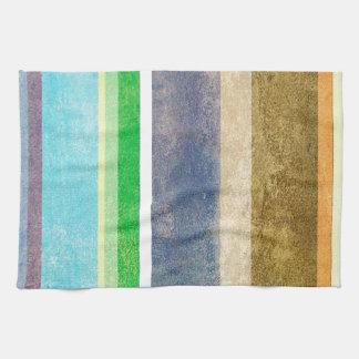 summer rain worn look kitchen towels