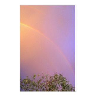 Summer Rainbow Stationery Design