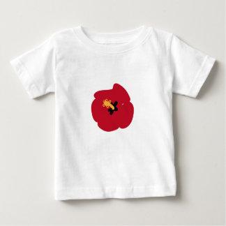 Summer Red Hibiscus Baby T-Shirt