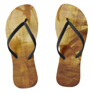 Summer Retro flip flops